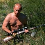Russia  - Russian President Vladimir Putin hunting